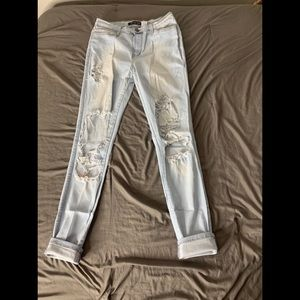 Fashion Nova Beach Bum Jeans size 13